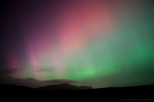 Aurora on the Isle of Skye