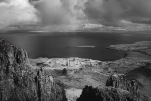 Staffin Bay from the Table 2, Isle of Skye, skye images