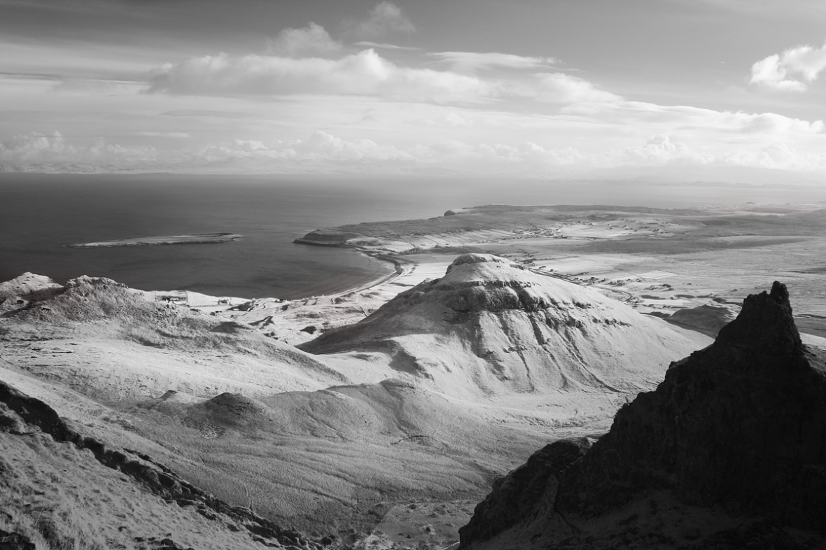 Staffin Bay from the Table, Quiraing, Trotternish Ridge, Isle of Skye, skye images