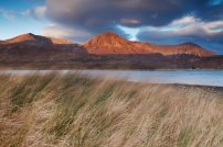 Glamaig and grass
