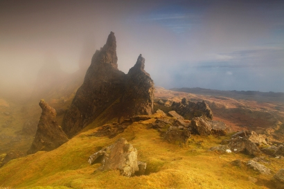 The south side of the Old Man of Storr